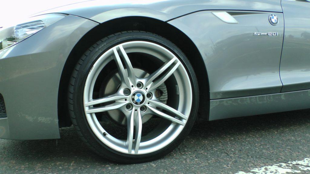 BMW car wheel