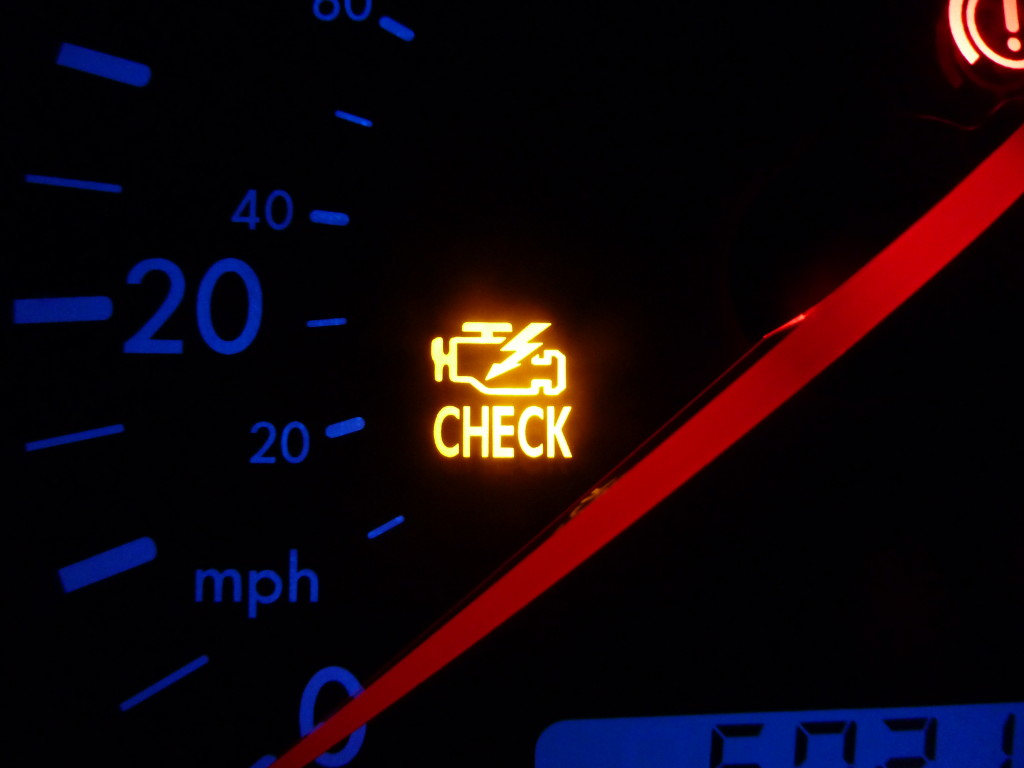 check engine light for auto repair service
