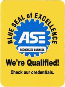 ASE Certified Blue Seal