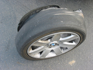 tire blowout from heat