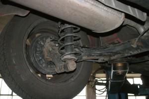 car suspension beam