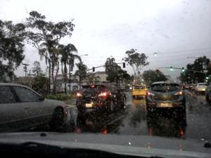 rain el cajon boulevard